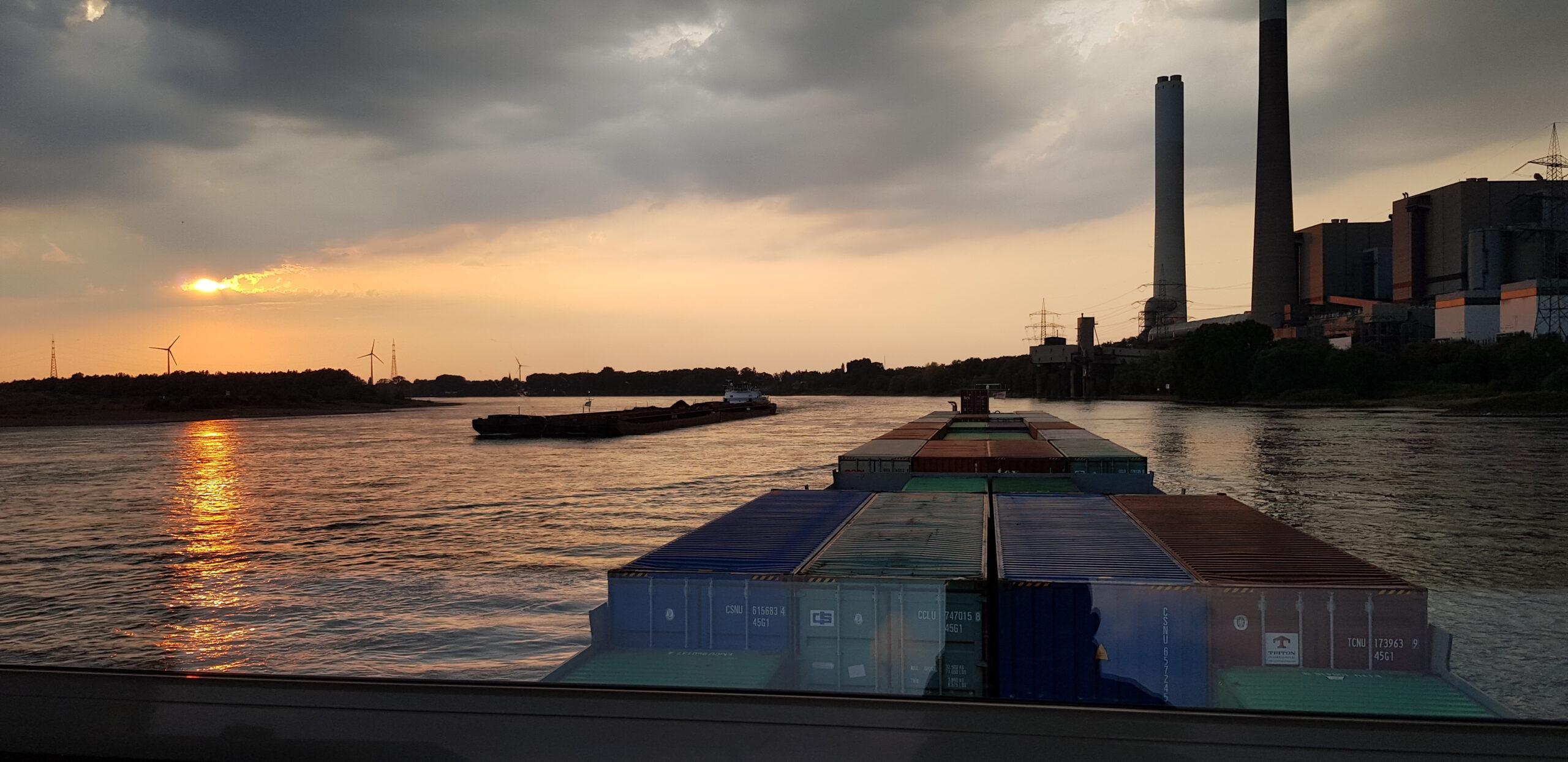Geen reis hetzelfde afvarig Rijn